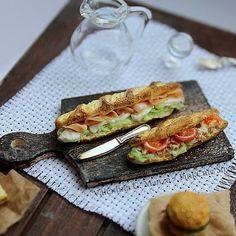 Panini baguet imbottiti ❤️ 1/12 scale