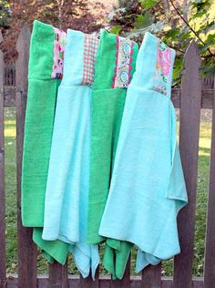 how to make hooded towels