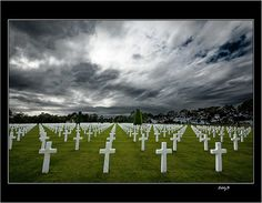 Colleville-Sur-Mer - Normandia -Francia    No HDR    View On Black     God Bless the USA!