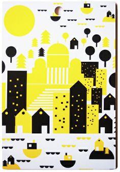 Bombon leikkuulauta Helsingin kesä - Astubutiikkiin.fi Print Patterns, Kids Rugs, Prints, Gift Ideas, Colors, Decor, Women, Decoration, Kid Friendly Rugs