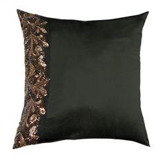 Kylie Minogue Lazzaro Square Pillowcase, Black