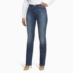 Women's Gloria Vanderbilt Amanda High-Rise Bootcut Jeans, Size: 4 - regular, Brt Blue
