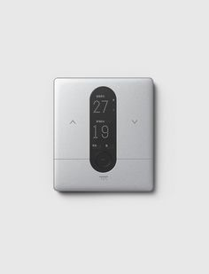 IOT device on Behance Smart Home Design, Electric House, User Interface Design, Shape Design, Technology Gadgets, Consumer Products, Industrial Design, Consumer Electronics, Remote