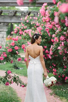 Beautiful and intimate wedding in a rose garden at Loose Park with mansion wedding reception.