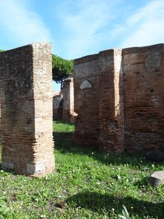 Een winkeltje in Ostia