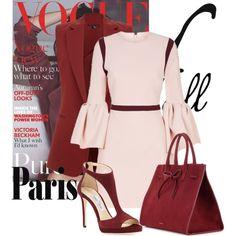 fall in paris by prvkamira on Polyvore featuring мода, Roksanda, Theory, Jimmy Choo, Mansur Gavriel and fallgataway