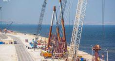 В Сети появились новые видеоролики о стройке Керченского моста