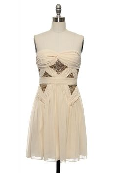 Tip of the Chrysler Dress in Cream http://www.laceaffair.com/tip-of-the-chrysler-dress-in-cream/