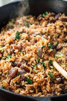 Spicy Garlic Beef Bibimbap   thecozyapron.com