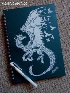 Sketchbook Dragon by nightfuryscars