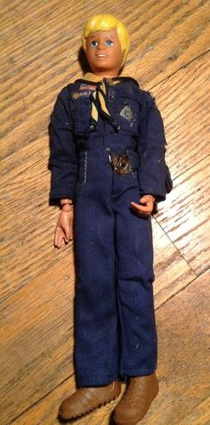 Vintage CRAIG CUB Action Figure Boy Scouts 1975 by Kenner DOLL