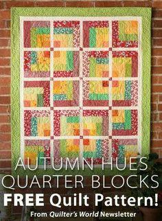 Autum blocks love the colors
