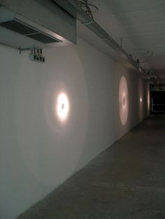 Untitled (flashlight projections), 2006
