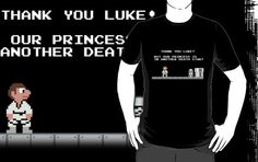 """""""Our Princess is in Another Death Star!""""  - £15.99    Crossover Time! This time it's Super Mario Bros. and Star Wars."""