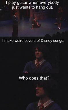 Darren criss does!