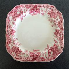 "7 3/4"" square salad plate From NanasCherishedChina on Etsy"