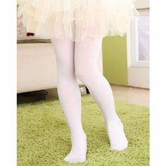 Kids Orange /& Black Striped Tights Opaque Soft Girls Party Ballet Princess Dance