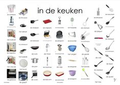 Learn Dutch, Dutch Language, Close Reading, Learning, Mini, Google, Vocabulary, Kitchens, Studying