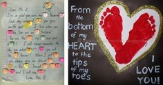 Therapy Ideas and Pinterest Pinboard of the Week – Conversation Heart Writing and Footprint Valentines!