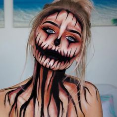 """20 Likes, 1 Comments - @makeupmia_ on Instagram: """"Another idea for #HalloweenMakeup Make an appoinment!! #halloweenmonth #halloween…"""""""