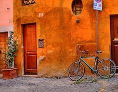Bici a Roma, al costat del Foro