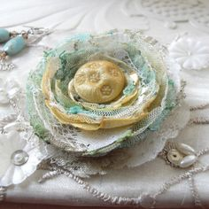 I don't know what it is, but I think it is awfully pretty. Perhaps I soap dish for decorative soap?