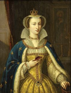 """Circle of Pieter Jansz Pourbus (Flemish, born circa """"Portrait of Mary Queen of Scotland, France,"""" oil on board, x Mary Queen Of Scotland, Mary Queen Of Scots, Queen Mary, Uk History, Tudor History, French Artwork, Adele, House Of Stuart, Mary Stuart"""