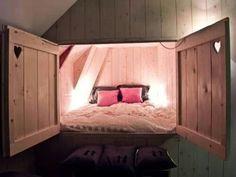 Hidden bed nook