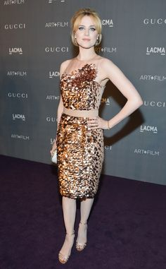 Evan Rachel Wood from Celeb Sparkle: Festive Holiday Dresses For Every Party | E! Online