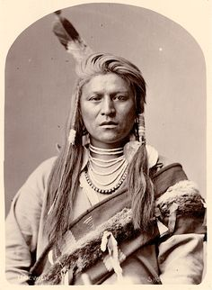 Uriewici aka Jack Tendoy. Shoshone. 1880. Photo by C.M. Bell.
