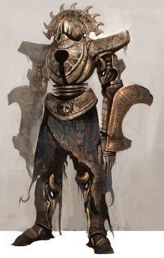 Aztec Blood Guardian