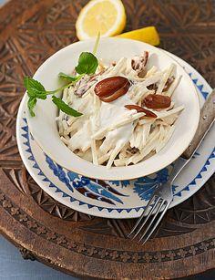 Arabischer Pastinaken-Dattel Salat perfekt als Beilage