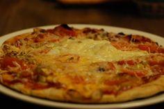 Fotorecept: Špaldová pizza z panvice