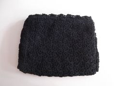 1940s Crochet Clutch Hand Muff Combo by looseendsvintage on Etsy, $36.00