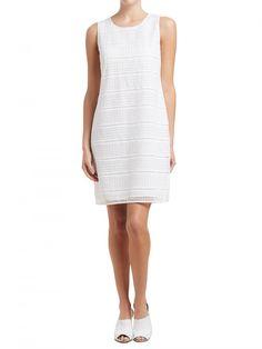 Geometric Lace Dress