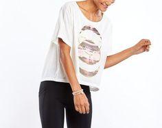 lucy Women's Foil Moon T-Shirt