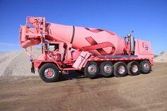 Elmers Pink truck