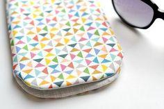 Como hacer una funda de tela para gafas