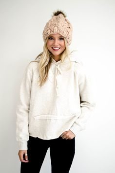 Roll With It Cropped Hoodie | ROOLEE