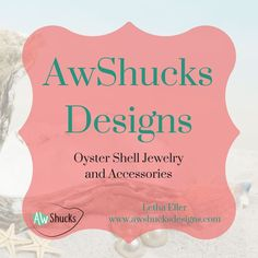 Oyster shell jewelry and accessories
