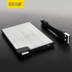 Olixar Powercard Portable Charger - 1400mAh - Charge your smartphone on the go with this ultra slim 'credit card sized' Power Bank from Olixar. With 1400mAh charge capacity, your phone can continue to make calls, check emails and navigate to a location for total peace of mind.