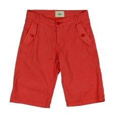 Boys Simple Red Trousers. Available now at www.chocolateclothing.co.uk
