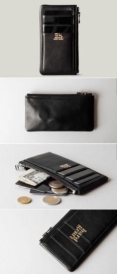 #hardgraft Zip Cards . Black Oil