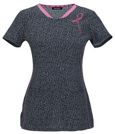 """Are you always talking about Breast Cancer Awareness? This """"Read My Lips"""" #heartsoul top is perfect for you!   The Uniform Outlet"""