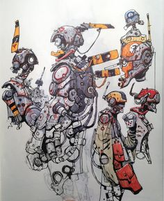 Random robotics