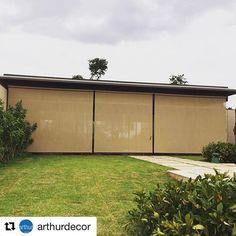 #Repost @arthurdecor ・・・ Work done! ✔️, protegendo e vestindo mais uma varanda. encontre a solução ideal na #arthurdecor #proteçãosolar #uvprotection #solarshading #stobag #telasolar #varandas #areaexterna