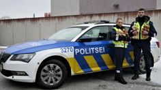 Estonian police cars will carry teddy bears to comfort children at scene of incidents.