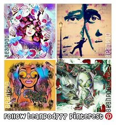 """""""If you like my sets...follow beanpod777 on Pinterest! =^•^="""" by beanpod ❤ liked on Polyvore featuring art"""