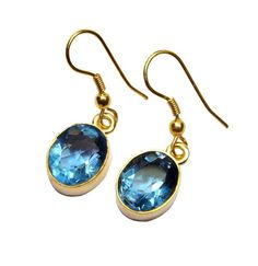Gold-plated Brass Blue Hydro Glass Oval Handmade Earringshttps://sitaracollections.com/collections/goldplated-jewelry/products/gold-plated-blue-hydro-glass-oval-earrings