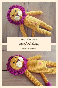 CROCHET HANDMADE LION - amigurumi lion - crochetbykim - erik the lion - virkat lejon - virkmönster - crochet pattern - amigurumi pattern #amigurumi #crochet #virka #handmade #lion #crochetbykim #madetoorder #cottontoy #toy #stuffedlion #stuffed #animal #plush